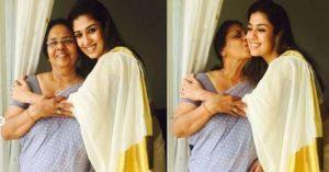 Nayanthara mom